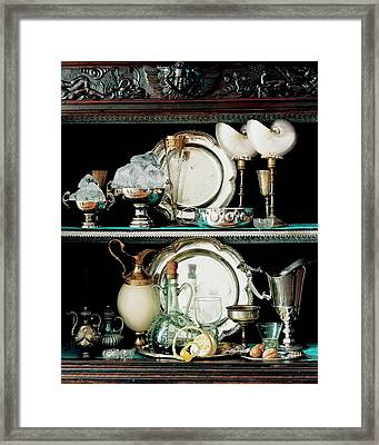 A 16th Century Buffet Framed Print by Pascal Chevallier