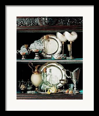 Sterling Silver Framed Prints