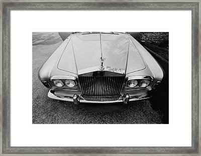 A 1974 Rolls Royce Framed Print