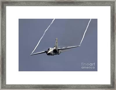 A-200 Tornado Framed Print by J Biggadike