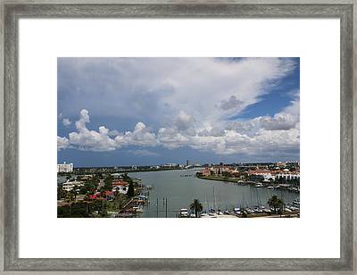 Clearwater Florida Framed Print