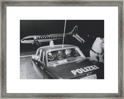 A Aeroplane Hijacked To Munich Framed Print by Retro Images Archive