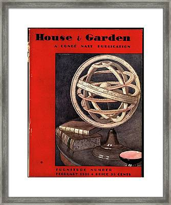 A Armillary Sphere Framed Print