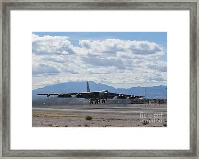 A B-52 Stratofortress Takes Framed Print