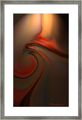 A-b-g-32 Framed Print by Ines Garay-Colomba
