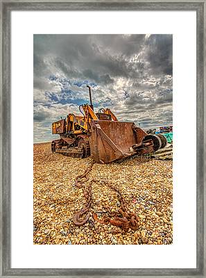 A Bad Case Of Rust Framed Print