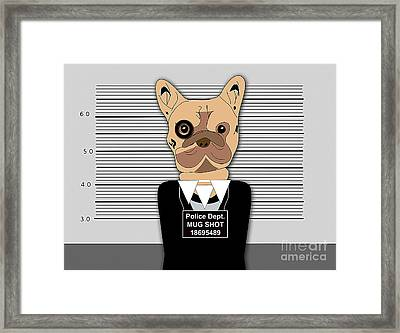A Bad Night Out. Framed Print