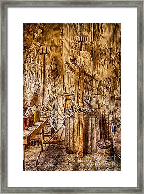 A Bannack General Store Framed Print by Priscilla Burgers