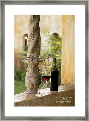 A Beautiful Day For Wine Framed Print