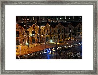A Beautiful Dining Ambience Framed Print