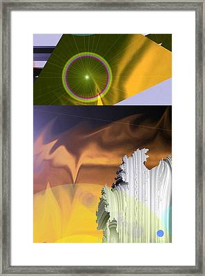 A Beautiful Mad Mad World Framed Print by Jeff Swan