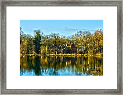 A Beautiful Place To Live Framed Print