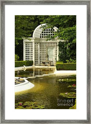 A Beautiful Place To Sit Framed Print