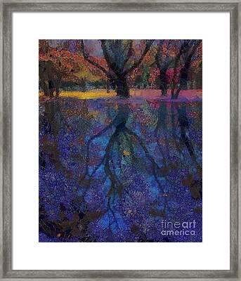 A Beautiful Reflection  Framed Print