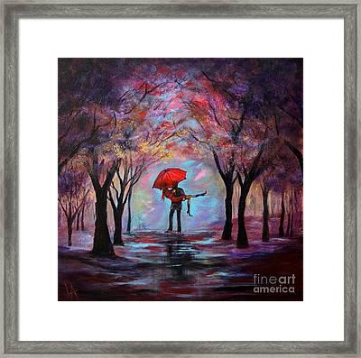 A Beautiful Romance Framed Print