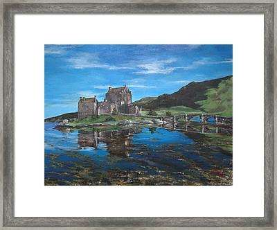 A Beautiful Scottish Day Framed Print by Julia Robinson