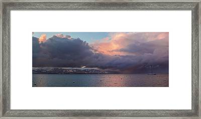 A Beautiful Storm Framed Print by Brad Scott