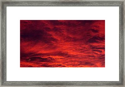 A Beautiful Sunrise Framed Print by Sascha Kolek