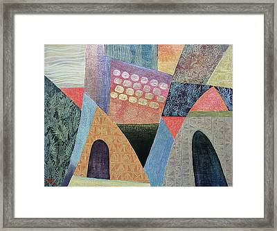 A Beautiful Way In Framed Print