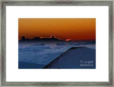 A Beauty It Was Framed Print by Karl Voss