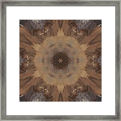 A Beaver's Work Framed Print