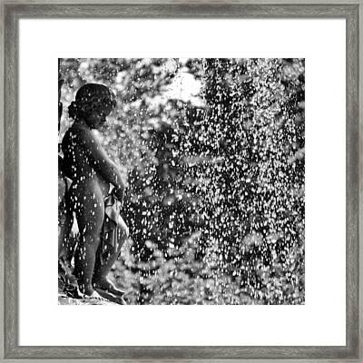 A Bethesda Putto Framed Print