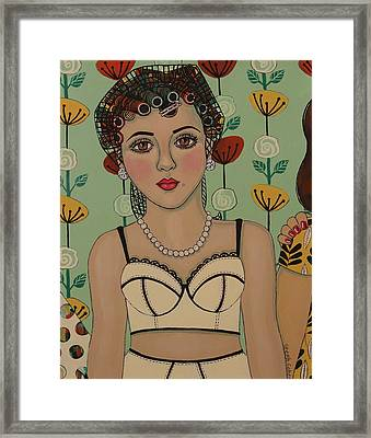 A Big Event Framed Print by Stephanie Cohen
