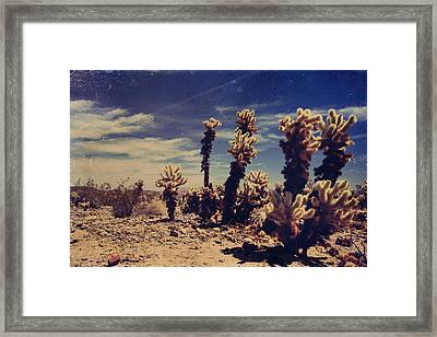 A Billion Needles Went Into My Heart Framed Print by Laurie Search