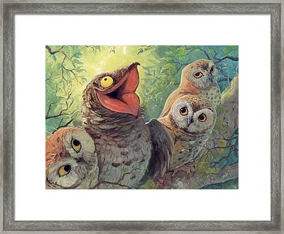 A Bird In This World Framed Print