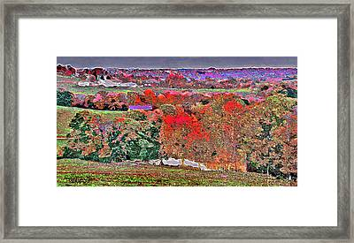 A Birds Eye View Framed Print by Brian Graybill