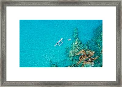 A Bird's Eye View Framed Print