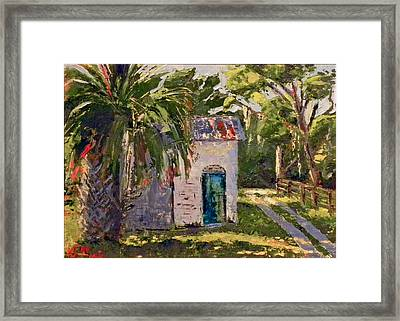 A Bit Of The Past Framed Print