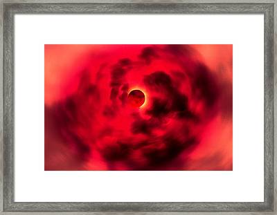 Final Approach Framed Print by Kellice Swaggerty