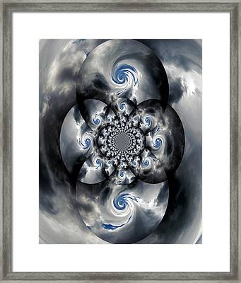 A Black Hole Framed Print by Skip Willits