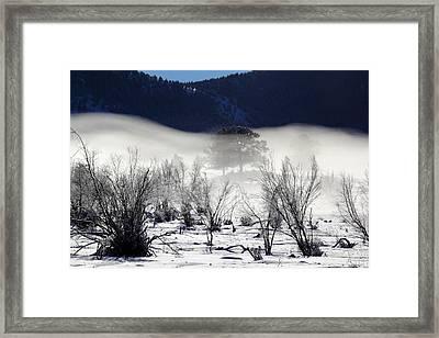 A Blanket Of Fog Framed Print