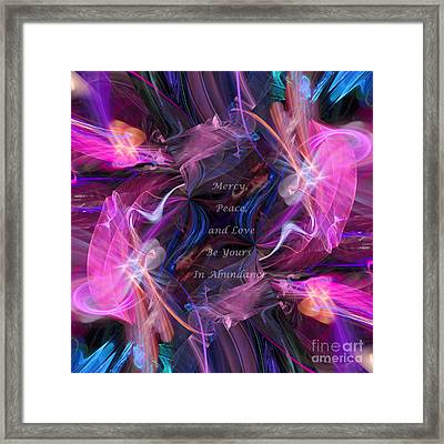 A Blessing Framed Print by Margie Chapman