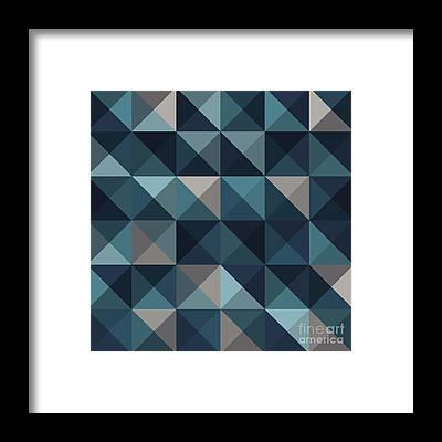 Symmetry Framed Prints