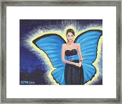 A Blue Fairy Framed Print