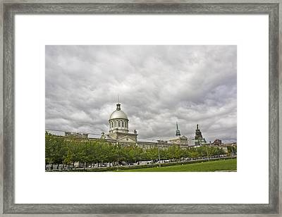 A Bonsecours Day  Framed Print