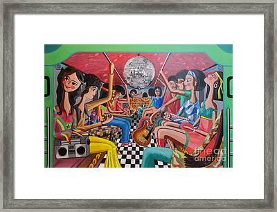 A Boogie Jeepney Ride Framed Print