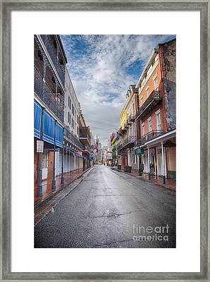 A Bourbon Morning Framed Print