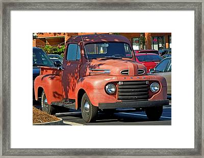 Framed Print featuring the photograph A Breath Of The Past by Pete Trenholm