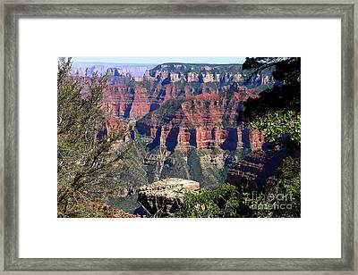 A Breathtaking View Framed Print