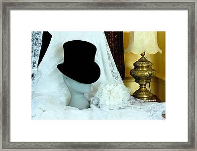 A Bridal Scene Framed Print