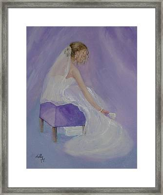 A Brides Soft Touch Framed Print