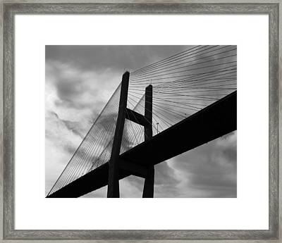A Bridge Framed Print