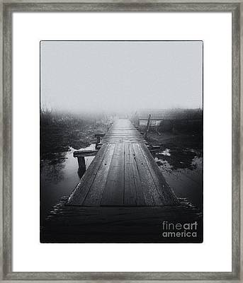 A Bridge To Neverland Framed Print by James Yang