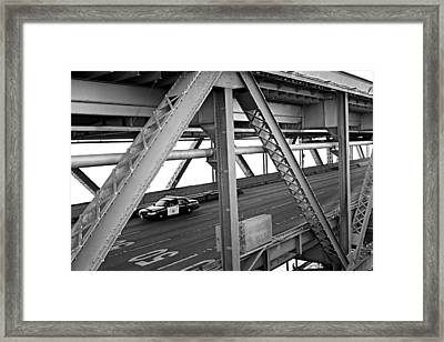 A Bridge Too Far Framed Print