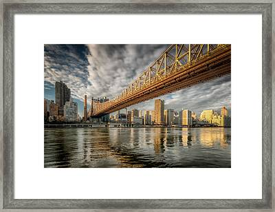 A Bridge With Three Names Framed Print