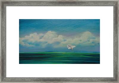 A Brief And Glorious Moment Framed Print by Stacey Heney